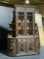 Magnificent French Carved Oak Hunting Sideboard (12 of 23)
