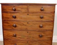 Regency Bowfront Chest of Drawers Mahogany (3 of 9)
