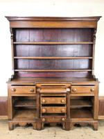 Antique 19th Century Oak Dresser (6 of 16)