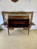 Stunning French Empire Cylinder Desk with Marble Top (7 of 11)