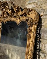 Large Victorian Gilt Overmantel Mirror (8 of 20)