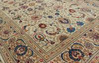 Good Pair of Antique Kashan Carpets (2 of 11)