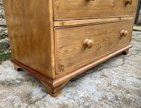 Antique Pine Chest of Drawers (4 of 17)