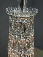 19th Century Crystal Tent & Waterfall Chandelier (13 of 18)