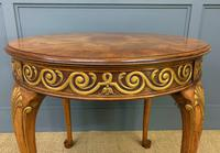 Burr Walnut Centre Table by Waring & Gillow (2 of 10)