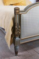 Lovely Gilded French Empire Upholstered King Size Bed (2 of 7)