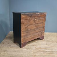 Bow Front Painted Chest of Drawers (7 of 8)