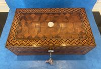 Victorian Inlaid Parquetry Rosewood Box (6 of 12)