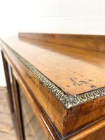 19th Century Glazed Walnut Bookcase (13 of 14)