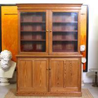 Oak Pine School Cabinet 19th Century (3 of 12)