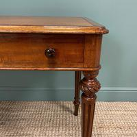 Quality Heal & Son Victorian Mahogany Antique Writing Table (7 of 8)