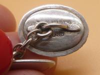 Sterling Silver & Agate Cufflinks (5 of 7)