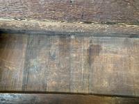 Late 18th Century Box Seated Oak Settle (13 of 19)