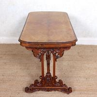 Walnut Writing Table 19th Century (13 of 14)