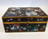 Japanese Cloisonné Box