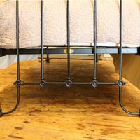 Black Victorian Single Antique Bed (4 of 4)