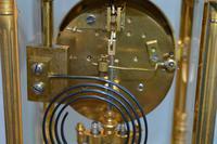 Four Glass Mantel Clock (4 of 6)