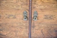 Figured Walnut Veneer Sideboard (9 of 12)