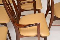 1960's Danish Rosewood & Leather Dining Chairs by Niels Kofoed (12 of 12)