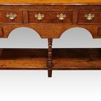 Antique Oak Small Dresser Base (7 of 11)