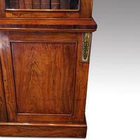 William IV Rosewood Cupboard Bookcase (3 of 9)