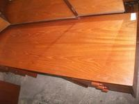 Stag Teak Dressing Table & Stool (3 of 3)