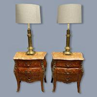 Pair of Brass Column Table Lamps (7 of 7)