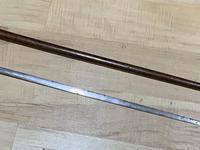 Gentleman's Walking Stick Sword Stick with Silver Collar Hallmarked Chester 1912 (15 of 25)