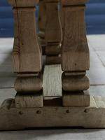 Huge French Bleached Oak Monastery Dining Table (12 of 30)