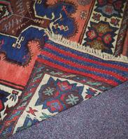 Gorgeous Vintage Tajikistan Tribal Wool Rug (4 of 6)