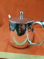 Silver Plate Sheffield Teapot - Gladwin Ltd c.1930 (9 of 10)