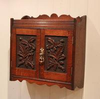 Victorian Carved Wall Cabinet (3 of 9)