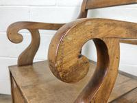 19th Century Oak Armchair Commode (7 of 10)
