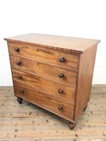 Antique Mahogany Chest of Drawers (8 of 8)