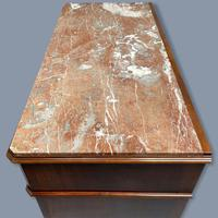 French Charles X Style Marble Top Commode (9 of 9)