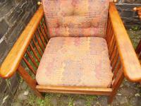 Pair of Arts & Crafts Reclining Chairs (9 of 12)