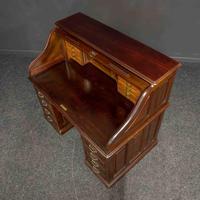 Early 20th Century Mahogany Desk (6 of 15)