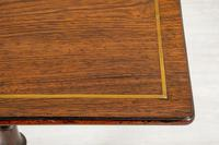 Very Pretty Regency Rosewood Occasional Table (7 of 8)
