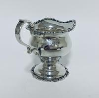 Antique Solid Sterling Silver Milk or Cream Jug Chester 1906 (5 of 11)