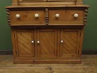 Antique Irish Kitchen Dressser with Glazed Top, Rustic Country Dresser (2 of 11)