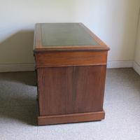 Oak Pedestal Desk - Edwardian (7 of 8)