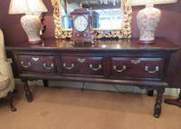 George II Period Oak Three Drawer Dresser (2 of 14)