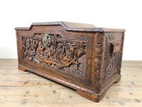 Early 20th Century Carved Camphor Trunk (5 of 14)