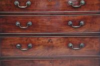 Tall 18th Mahogany Chest of Drawers (9 of 10)