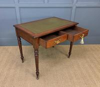 Victorian Walnut 2 Drawer Writing Table (6 of 15)
