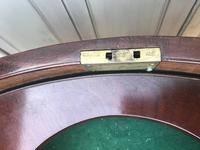Superb and rare regency country house gentleman's drum table washstand (7 of 26)