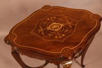 Quality Inlaid Window Table (3 of 4)