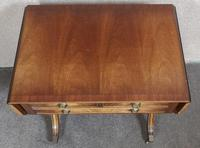 Mahogany Sofa Table by Bevan Funnell Reprodux Avena AV872 (9 of 12)