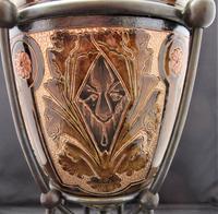 Superb Doulton Lambeth Oil Lamp by Mark V Marshall, 1881 (12 of 18)
