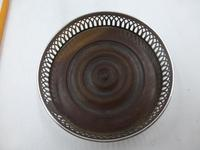 Antique George III Silver Coaster London 1791 (6 of 6)